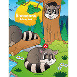 Raccoons Coloring Book 1
