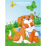 Animal Friendships Coloring Book 1