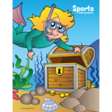 Sports Coloring Book 2