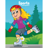 Sports Coloring Book 3
