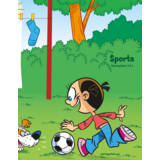 Sports Coloring Book 1, 2 & 3