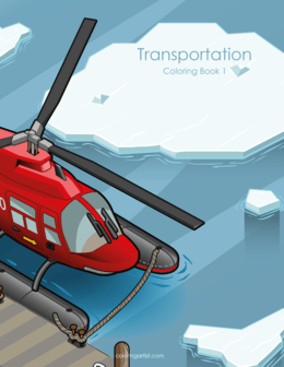 Transportation Coloring Book 1
