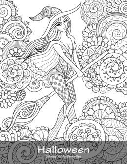 Halloween Coloring Book for Grown-Ups 1