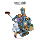 Androids Coloring Book for Grown-Ups 1