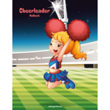 Cheerleader-Malbuch 1