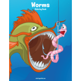Worms Coloring Book 1