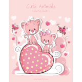 Cute Animals Coloring Book 2