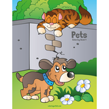 Pets Coloring Book 4