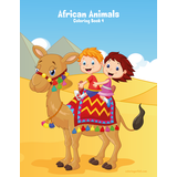 African Animals Coloring Book 4