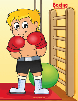 Boxing Coloring Book 1