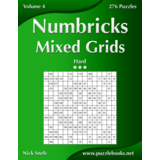 Numbricks Mixed Grids - Hard - Volume 4 - 276 Puzzles